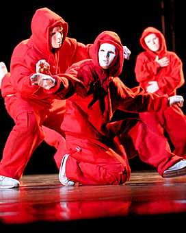 Jabbawockeez wallpaper titled red wockeez