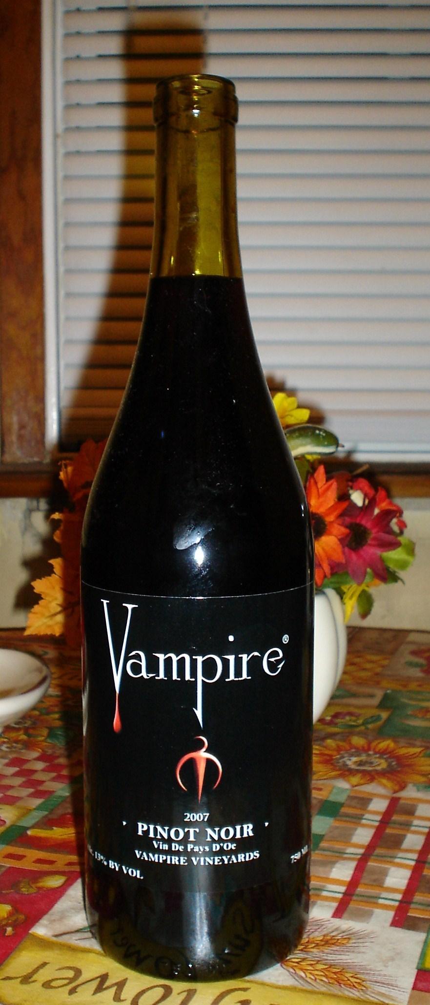 vampire vineyards wine