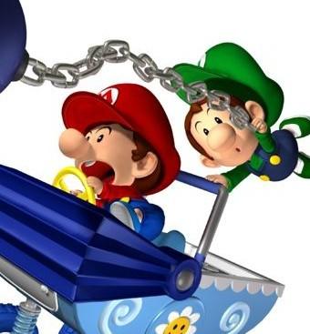 Mario Kart: Double Dash - All Characters - YouTube  |Baby Mario And Baby Luigi Mario Kart Double Dash