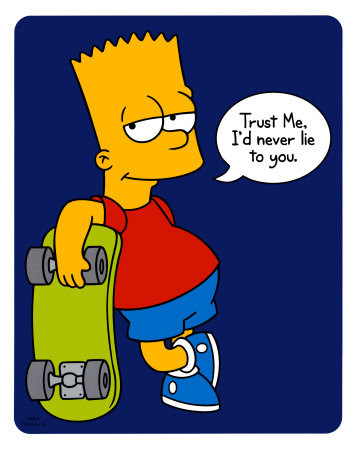 Bart simpson is gay