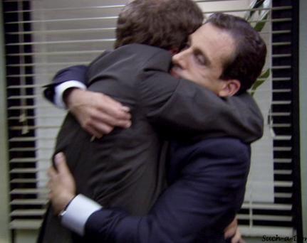 The Office Best Of Pick Favorite Man Hug