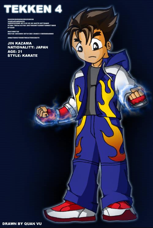 Where Can I Find Jin Kazama Cosplay The Blue Hoodie One Please