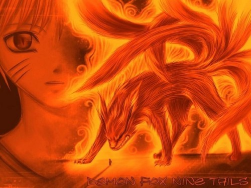 naruto shippuden 9 tail fox