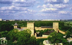 Where can you find the Lutsk castle?
