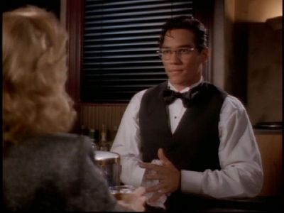 """In """"I've Got A Crush On You,"""" Clark becomes the bartender at the Metro Club. What name does he use?"""