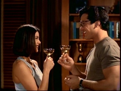 """In what episode does Lois and Clark have their """"almost first date""""?"""