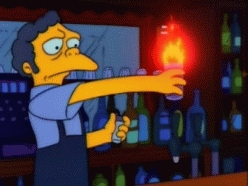 What is the secret ingredient in a Flaming Moe?