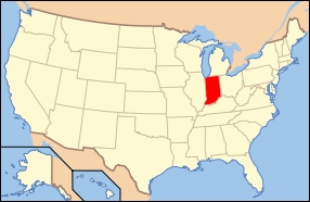 State Capitals: The capital of Indiana is...