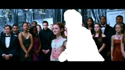 Who did Ginny go to the Yule Ball with?