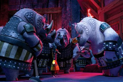 How many guards are there at the prison facility where Tai Lung is being held?