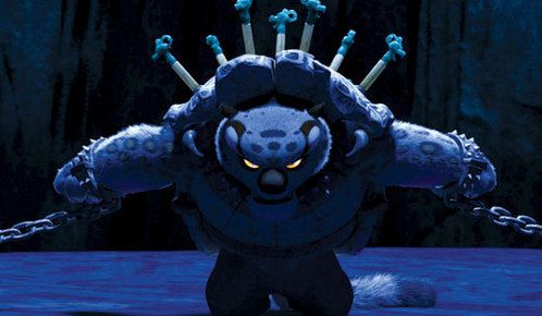 What's the name of the prison facility where Tai Lung is held?