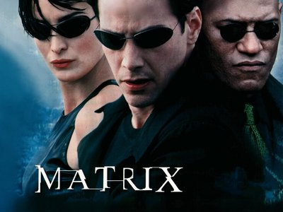 Which character did Laurence Fishburne play in the 'Matrix' series?