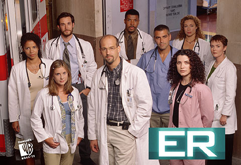 What is the title of ER episode directed by QT?