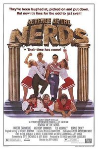 """What fraternity do Lewis and Gilbert belong to in the movie """"Revenge of the Nerds""""?"""