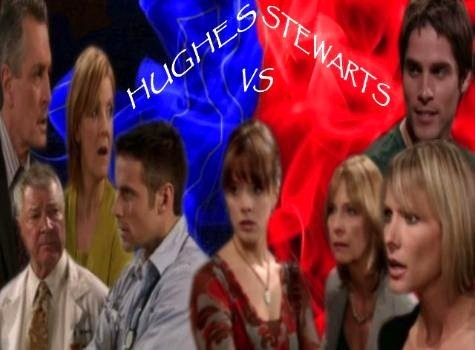 How Many Member's of the Hughes Family Have The Stewart Women Been With In Total ?