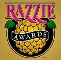 What pop star recieved the Razzie Award for Worst Actress two years in a row?