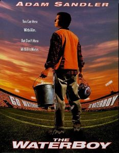 Which actress played Adam Sandler's mother in 'Waterboy'?