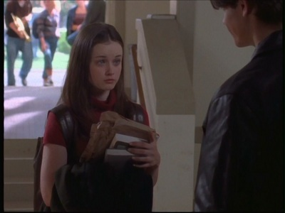 What book does Dean ask Rory about in the pilot?