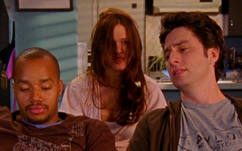 What Dvd do Turk and JD watch with Julie?