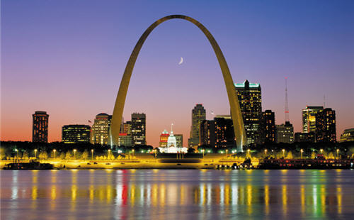 American cities in what city will you find this iconic for Architect st louis mo