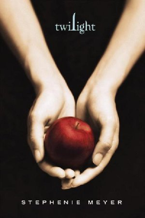 what does the 사과, 애플 on the cover of twilight represent?