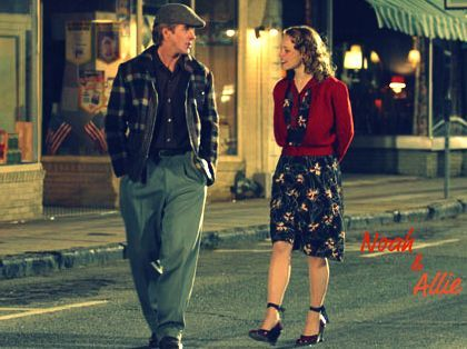 "What SPECIFIC dance do Noah and Allie do in the street in ""The Notebook""?"