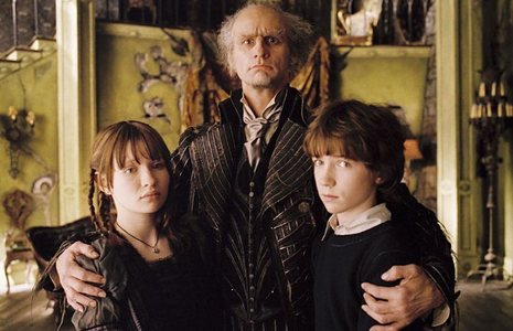 The film 'Lemony Snicket's A Series of Unfortunate Events,' was adapted from three of Snicket's books. What is NOT one of them?