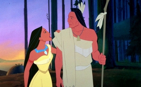What is Pocahontas' dad's name?