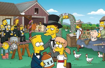 What was the name of the character on The Simpsons that Zooey lent her voice to?