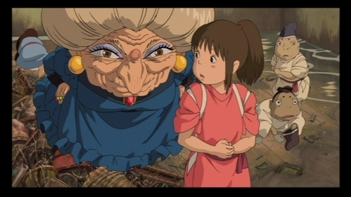 What new name does Yubaba give Chihiro?