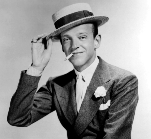 Which actress never starred in a film with Fred Astaire?