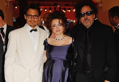 Which of these Tim برٹن films does NOT feature both Johnny Depp AND Helena Bonham Carter?