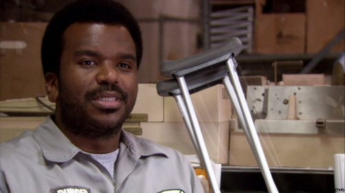 PICTURE THIS: What is Darryl saying in this scene?