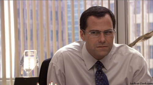 PICTURE THIS: What prompts this look from David Wallace?
