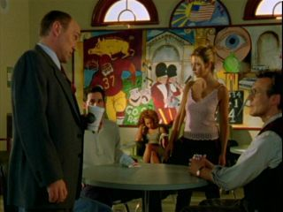 What does Principal Snyder tell Buffy she smells of in season 2?