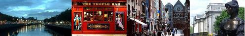 The Temple bar is: