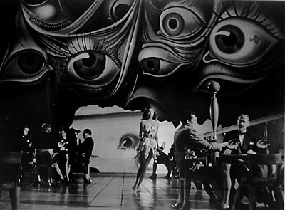 Which artist created the dream sequence in 'Spellbound'?