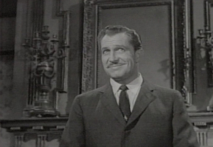 What is the name of Vincent's character in the film 'House on Haunted Hill'?