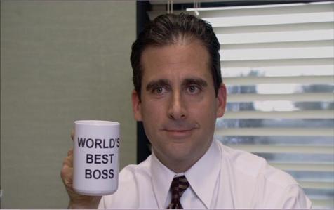 Where did Michael get this mug?