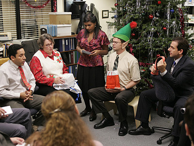 "What gift did Phyllis choose in ""Xmas Party""?"