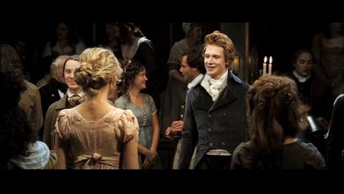 FROM THE BOOK: According to Mrs. Bennet, who did Bingley NOT dance with at the first ball?