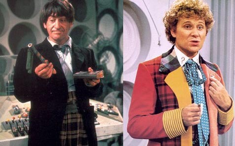 What unseen character was mentioned Von the Sekunde Doctor AND sixth Doctor in two separate stories?