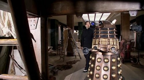 Which Dalek was responsible for overseeing the construction of the Empire State Building?