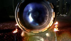 What is the name of the time vortex that all Gallifreyans must look into as part of the initiation into the Academy?