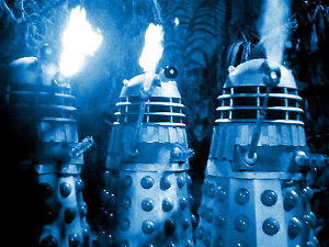 Which of the following was NOT in league with the Daleks in 'The Daleks Masterplan'?