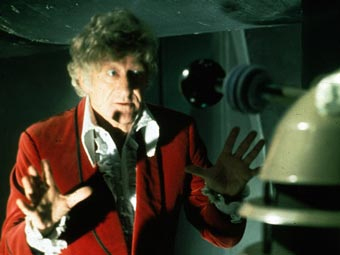 In 'Day of the Daleks,' it's revealed that what kind of bomb is most effective on a Dalek's armored casing?