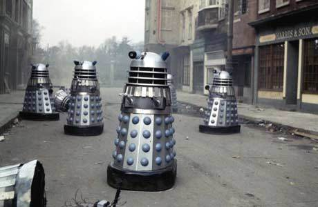 What did the Daleks hope to learn from the Spiridons in 'Planet of the Daleks'?