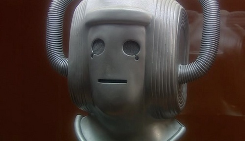What was the first story to feature the Cybermen called?
