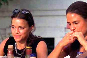 According to Letty, who was Jesse praying to when he a dit grace?