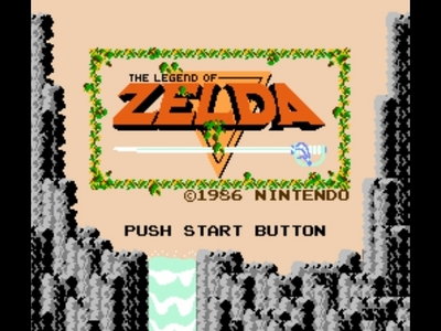 The original Legend of Zelda was THE first video game which te could: